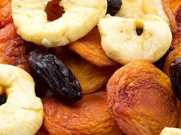 Organic Dried Fruit No Sugar Added