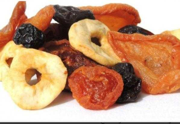 Mix Dried Fruit Production Steps