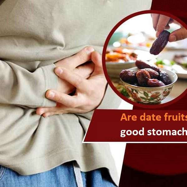 Are date fruits good stomach?